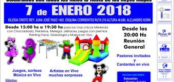 5 To Aniversario de la Iglesia Cristo Rey  – 7 de Enero 2018 – Evento Imperdible para todos los Niños